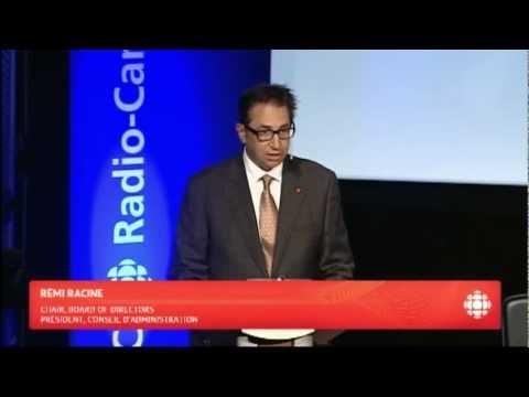 Rémi Racine - Annual Public Meeting 2012 (English Version)