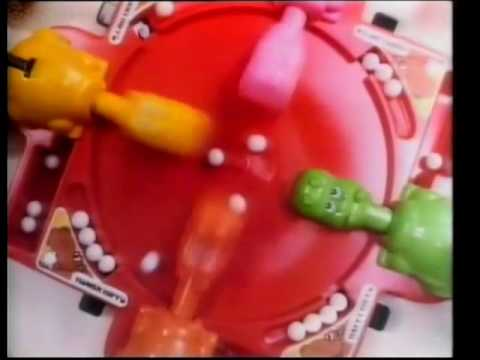 Hungry Hungry Hippos MB Games 1980s (Vintage toy Advert)