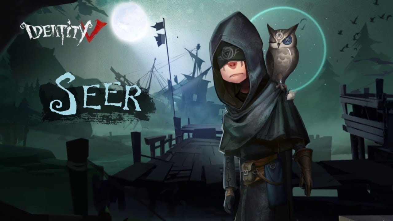 Identity V New Survivor The Seer Eli Clark Gameplay Youtube