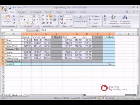 Minuszeichen Excel