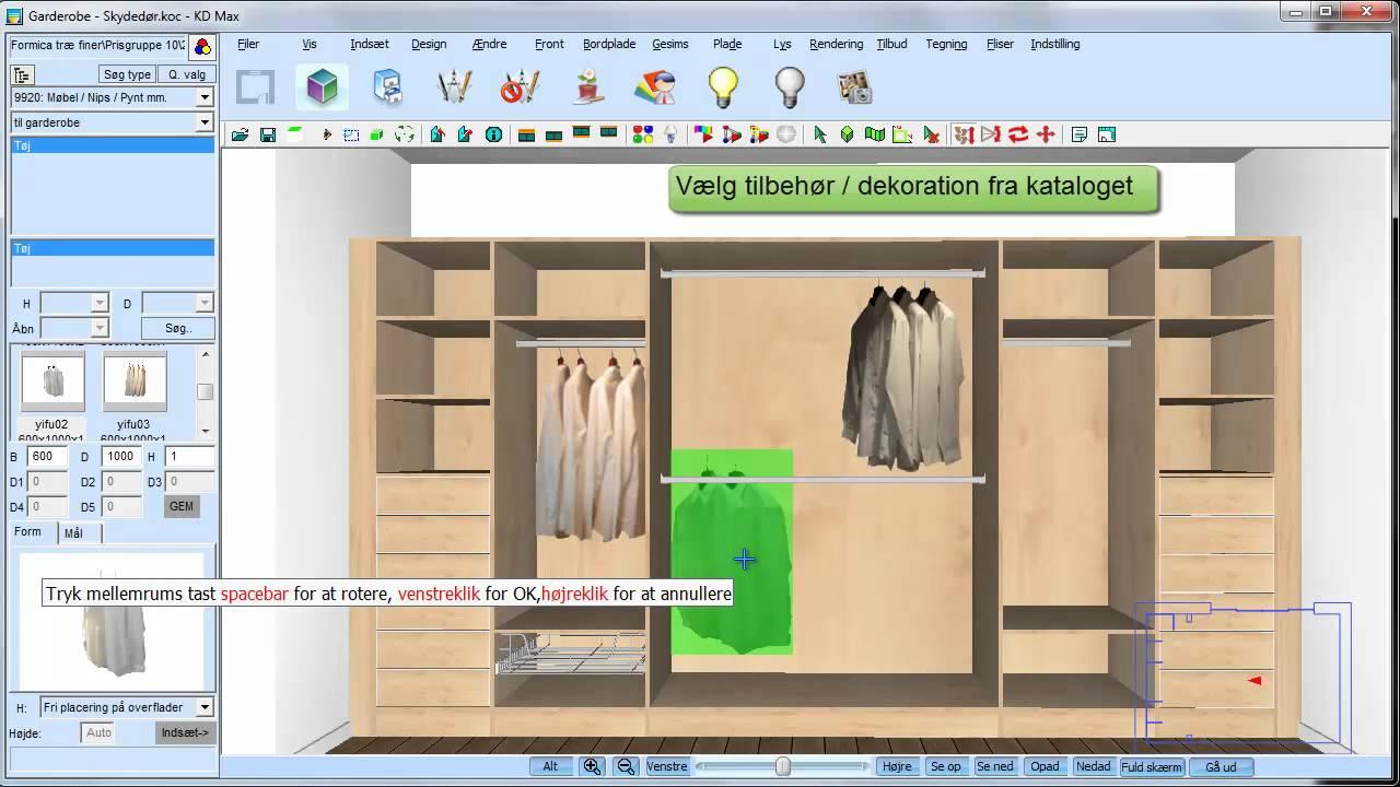 Kdmax support video garderobe youtube for Garderobe stander