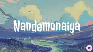 Download lagu Japanese soft song • Nandemonaiya - Mone Kamishiraishi (Mitsuha) | Lyrics Video