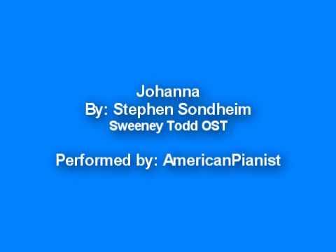 Johanna (Sweeney Todd OST - Solo Piano)