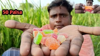 Jelly Candy Making|ஜெல்லி மிட்டாய்|90's Kids Special Candy|Marshmallow Recepie|Village Food Safari