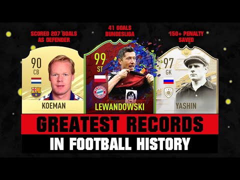 TOP 25 Greatest WORLD RECORDS in Football! 😵🤯
