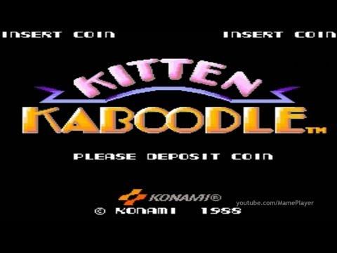 Kitten Kaboodle 1988 Konami Mame Retro Arcade Games