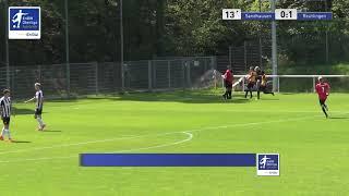 A-Junioren - 0:1  Dogukan Dogan - SV Sandhausen vs SSV Reutlingen 1905 Fußball