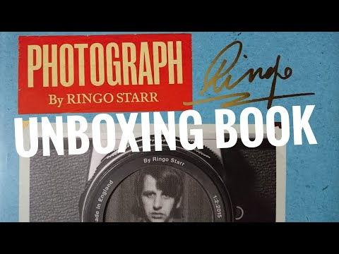 Unboxing Photograph By #RingoStarr #Book Genesis Publications
