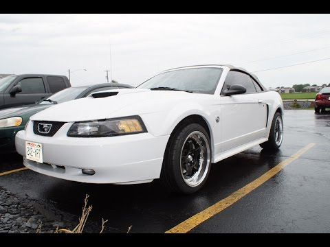 2004 Ford Mustang GT w/ Staggered 18` Konig SSM Wheels & Nitto NT555 G2  Tires by Extreme Customs