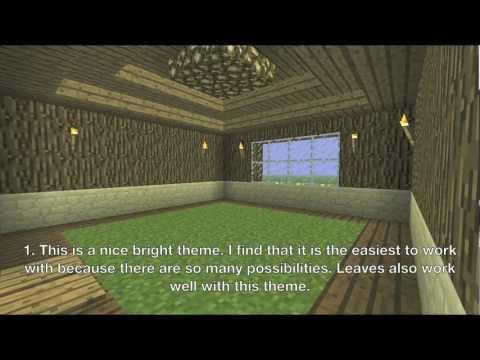 Minecraft House Themes Youtube