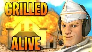 Grilled Alive! Fortnite Funny moments