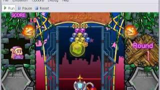 Jpcsp v0.3 rev1123 - Bust A Move Deluxe - PSP Emulator