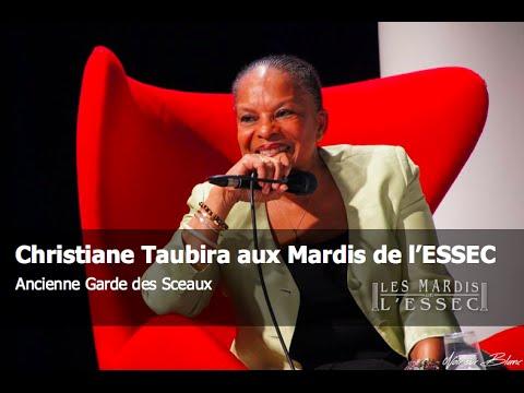 Christiane Taubira aux Mardis de l'ESSEC