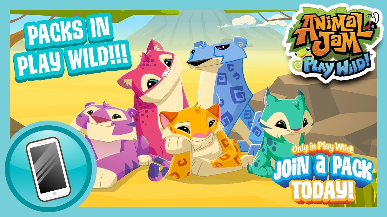 Join the Pack in Play Wild! | Animal Jam Play Wild!
