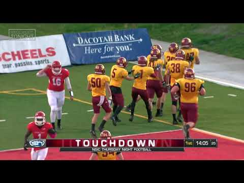 NSIC Game of the Week Northern State at Minot State Highlights
