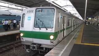 東京メトロ6000系 6102F 代々木上原駅発車