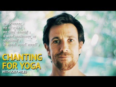 Chanting for Ashtanga Yoga - Om Saha Naavau Avatu