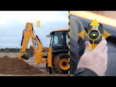Как выкопать траншею экскаватором-погрузчиком JCB