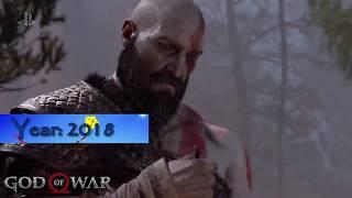 Evolution of God of War Games 2005 - 2018