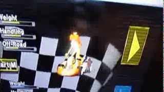 Mario Kart Wii Glitch: Daisy Bike Outfit in a Kart!