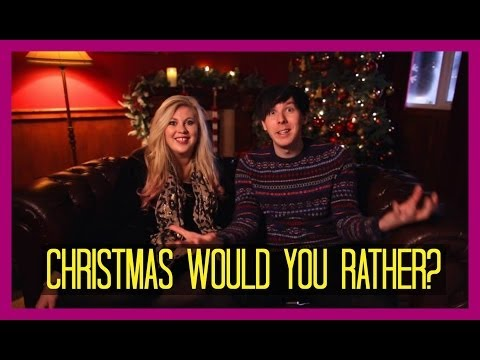 Christmas Would You Rather w Amazing Phil! | Sprinkle of Glitter