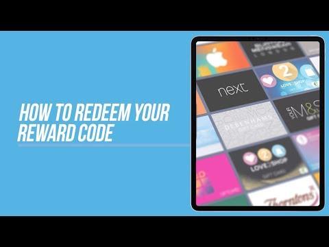 Love2shop Reward Codes - How To Redeem Your Reward Code