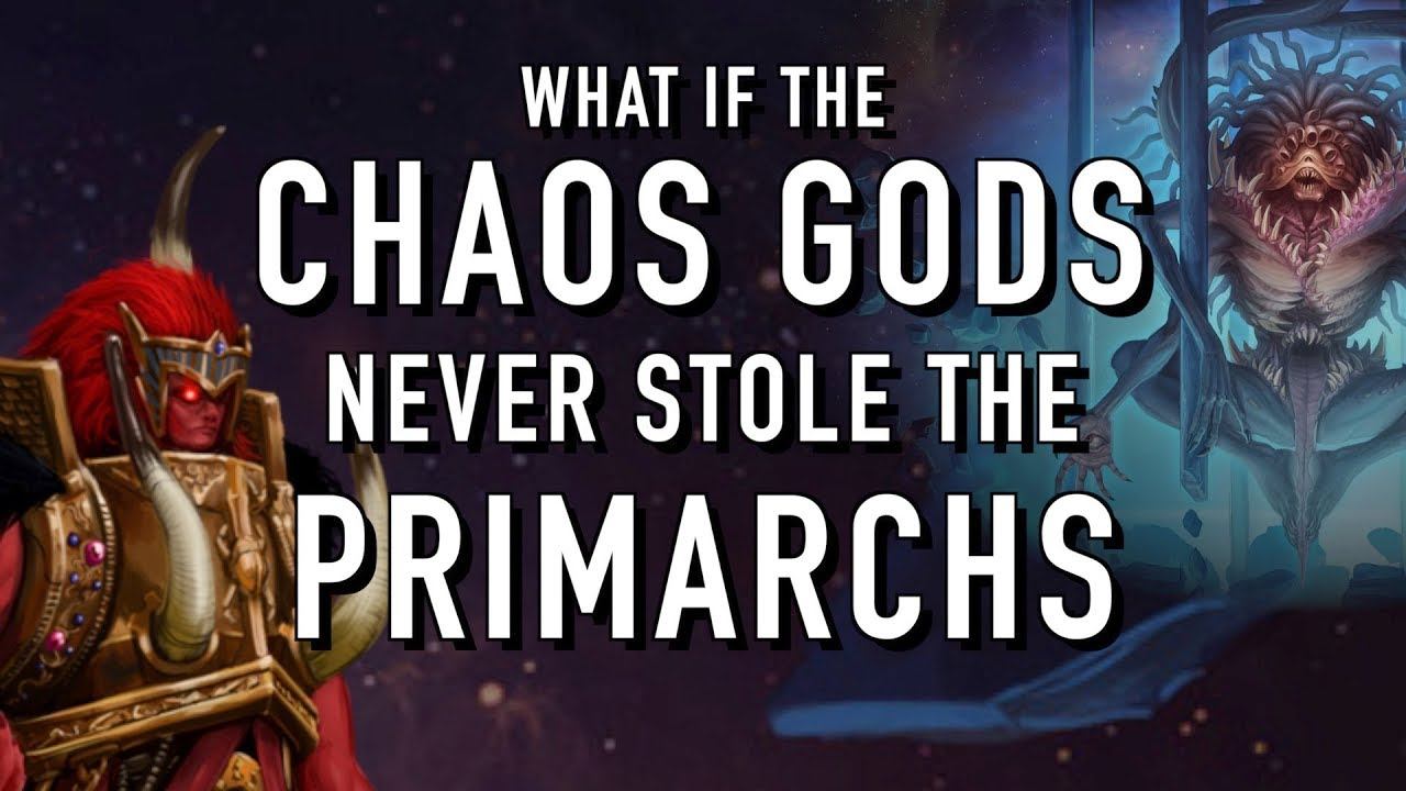 What if the Chaos Gods Never Stole the Primarchs in Warhammer 40K