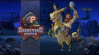 Geralt to ty?! | Graveyard Keeper #77 | PC | GAMEPLAY |