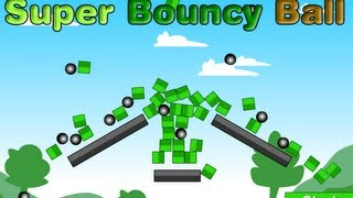 Super Bouncy Ball Level1-20 Walkthrough