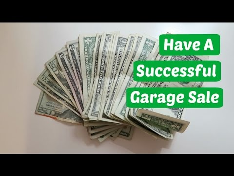 Tips For A Successful Garage Sale | Vlog