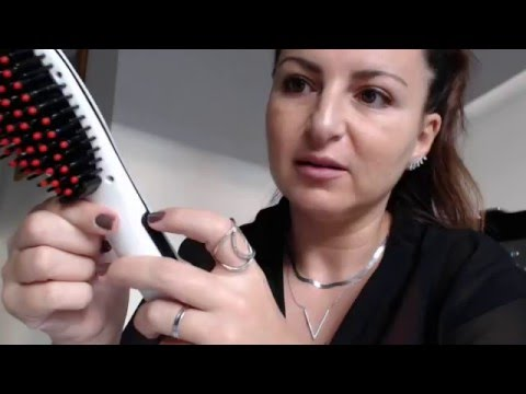 d mo revue brosse lissante aliexpress review aliexpress hair brush straightener youtube. Black Bedroom Furniture Sets. Home Design Ideas