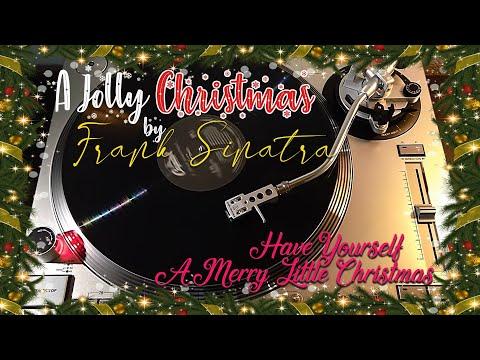 A Jolly Christmas Frank Sinatra - Have Yourself A Merry Little Christmas - (1957) Black Vinyl LP