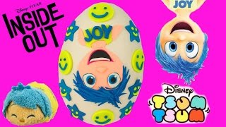 Disney Pixar's Inside Out Joy Play Doh Surprise Egg! Deluxe Figurine Playset! Blind Bags! Shopkins!