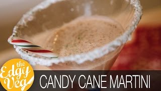 Candy Cane Martini Recipe Vegan | Edgy Veg