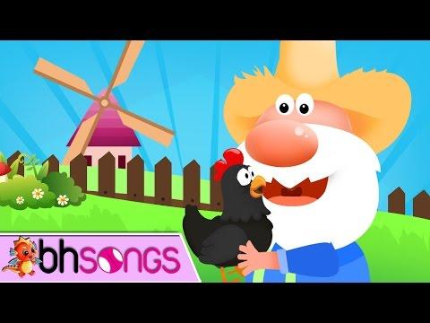 Hickety Pickety My Black Hen Nursery Rhymes | Nursery Rhymes TV [ Lyrics Music 4K ]