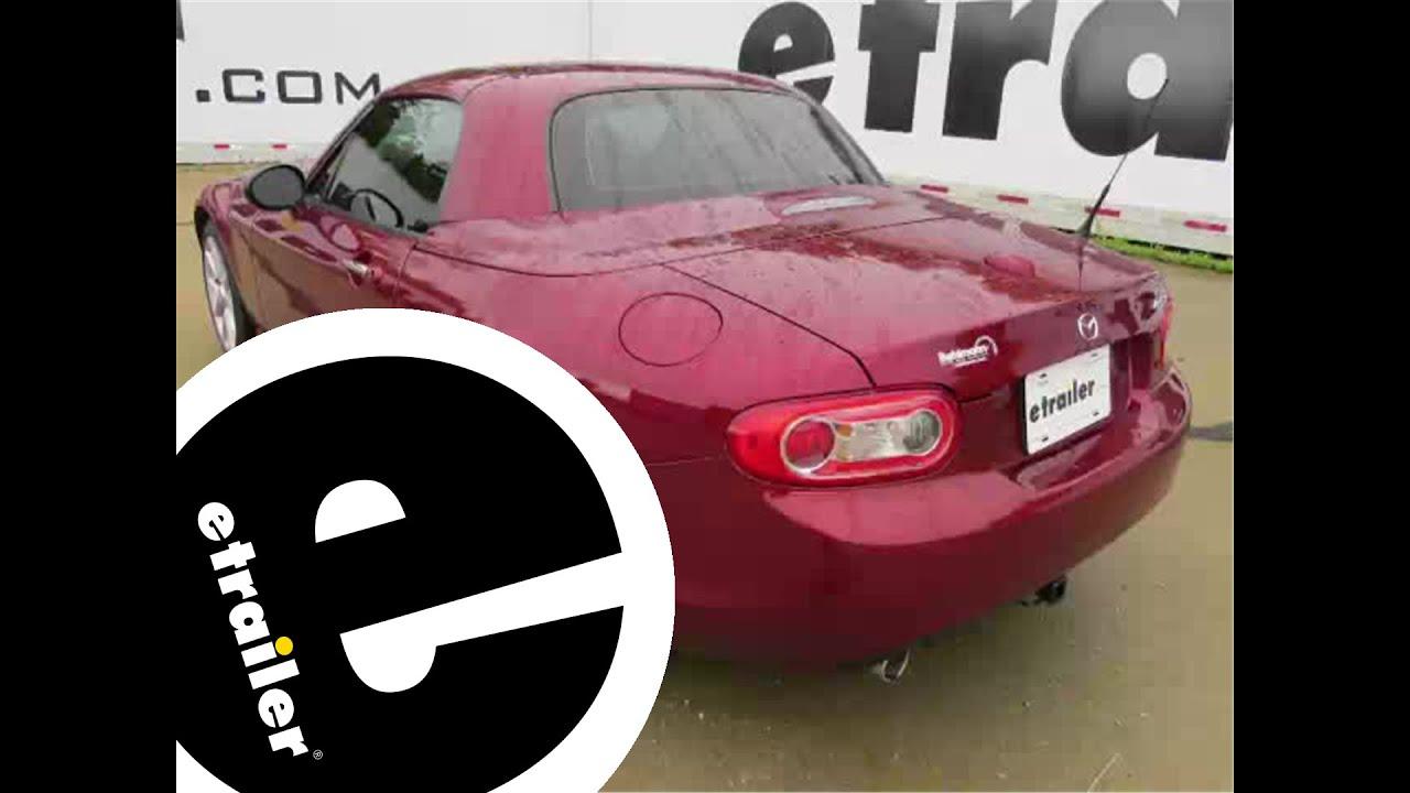 Trailer Hitch Installation - 2010 Mazda MX-5 Miata - Curt - etrailer com
