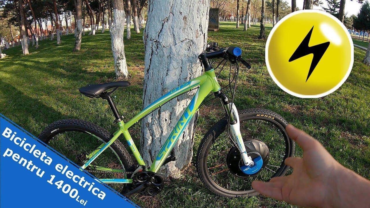 3e6aea32c28 Cea mai ieftina bicicleta electrica - 1150 Lei - YouTube