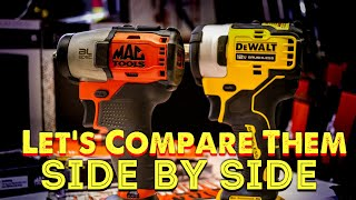 Mac Tools Impact Side By Side With Dewalt And A Cool Expert Set That Covers It All