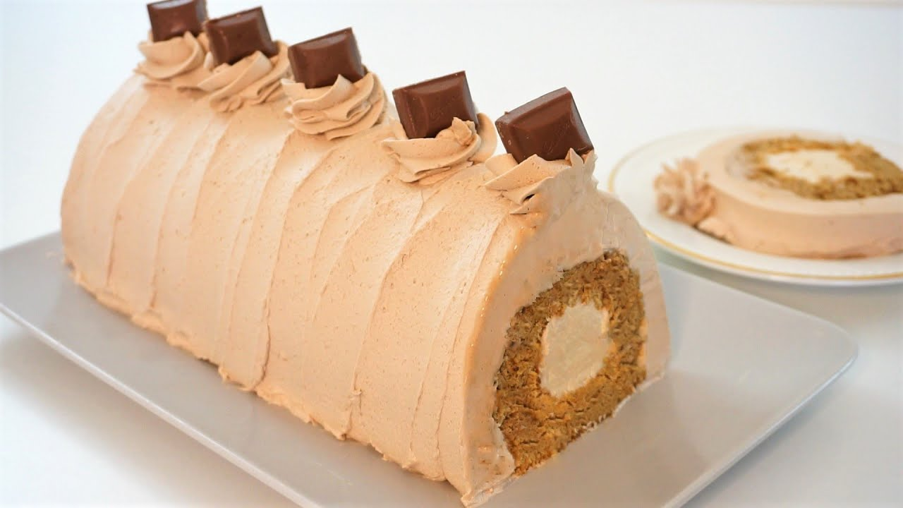 The Only Coffee Swiss Roll You Need That Melts In Your Mouth