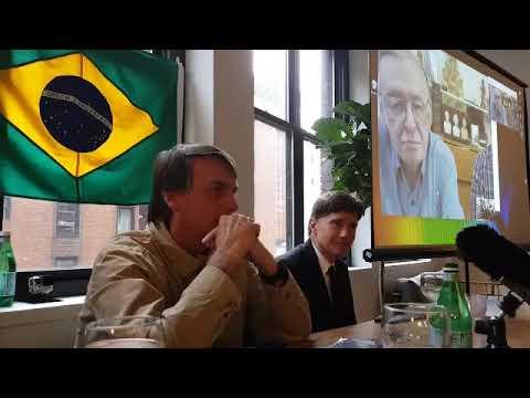 Encontro Internacional - Jair Bolsonaro, Olavo de Carvalho e Jeffrey Richard Nyquist (parte 1)