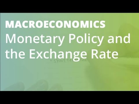 Monetary Policy and the Exchange Rate | Macroeconomics