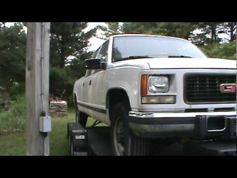 95 gmc 6 5 turbo diesel 3500 part 6 4 11 youtube. Black Bedroom Furniture Sets. Home Design Ideas