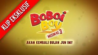 BoBoiBoy Season 3 Episode 6: Khidmat Wak Baga Ga 3-Minutes Promo