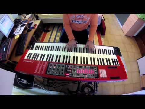 Erotomania - Dream Theater keyboard cover HD