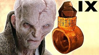I FIGURED OUT WHAT SNOKE'S RING DOES (HE'S NOT DEAD)!!! - Star Wars Theory