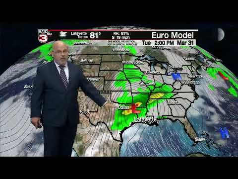 Rob's weather forecast part 2 03-25-20 10pm