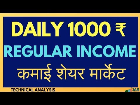 कमाएं  regular income from share market -  Learn Nifty Strategy  for daily income