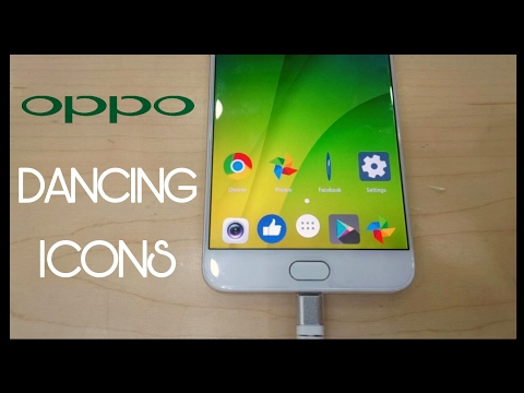 OPPO Phones Dancing Icons | Android Animated Icons - YouTube