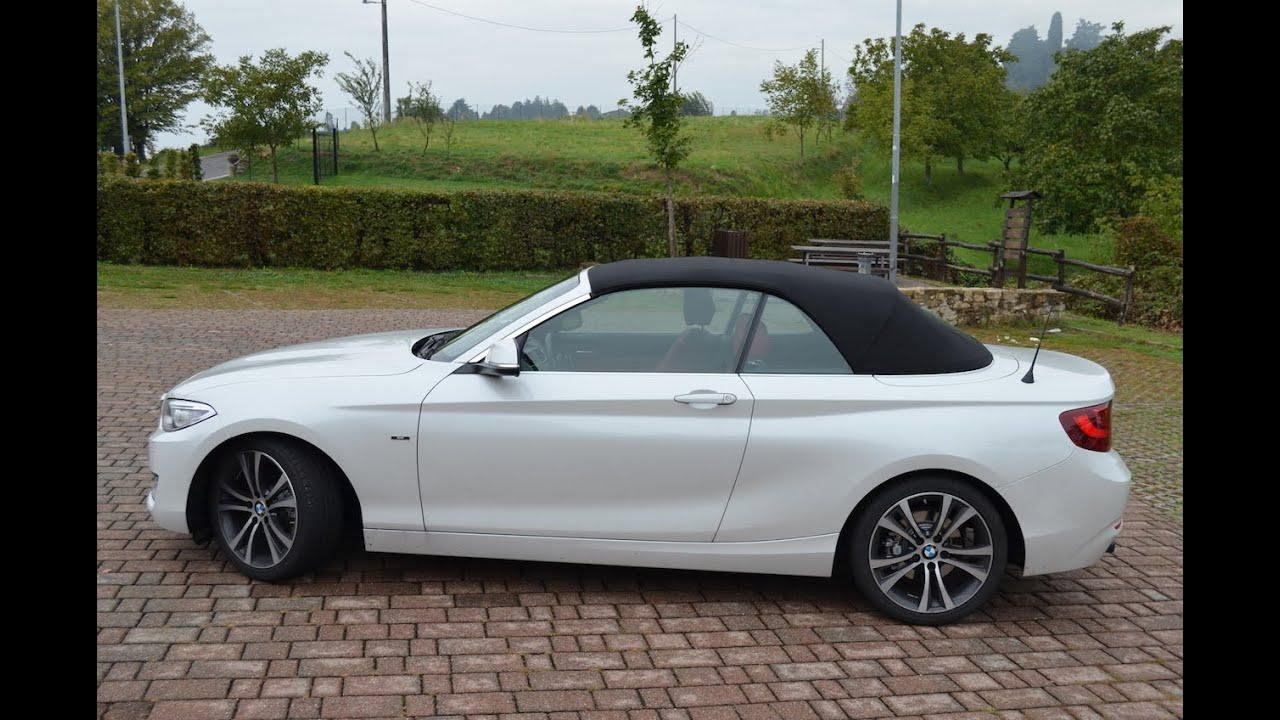 bmw serie 2 cabrio il test drive di youtube. Black Bedroom Furniture Sets. Home Design Ideas