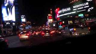 Las Vegas Blvd at night ( Miroir Miroir - Desire )